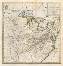 Mid-Atlantic, South, Southeast and Midwest Map By Thomas Conder