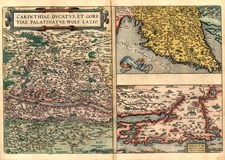 Europe, Hungary and Balkans Map By Abraham Ortelius