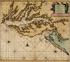 Mid-Atlantic and Southeast Map By Johannes Van Keulen