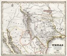 Texas Map By Joseph Meyer