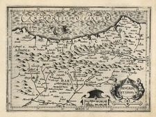 Europe and Spain Map By Jodocus Hondius - Michael Mercator
