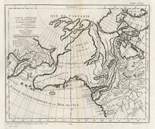 Alaska Map By Denis Diderot  &  Gilles Robert de Vaugondy