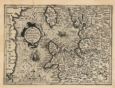 Europe and British Isles Map By Jodocus Hondius - Michael Mercator