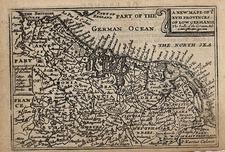 Europe and Netherlands Map By Pieter van den Keere