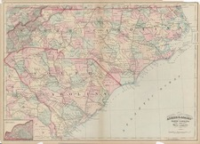 Southeast Map By Asher  &  Adams
