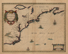 New England and Mid-Atlantic Map By Jan Jansson