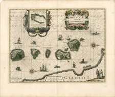 Asia and Southeast Asia Map By Willem Janszoon Blaeu