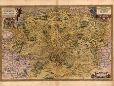 Europe and France Map By Abraham Ortelius