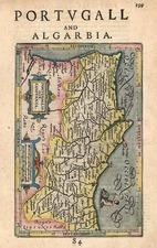 Europe and Portugal Map By Henricus Hondius - Gerhard Mercator