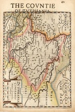 Map By Henricus Hondius - Gerhard Mercator