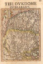 Europe and Netherlands Map By Henricus Hondius - Gerhard Mercator