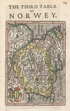 Europe, Germany and Scandinavia Map By Henricus Hondius - Gerhard Mercator