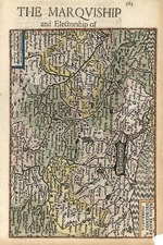 Europe, Germany and Baltic Countries Map By Henricus Hondius - Gerhard Mercator