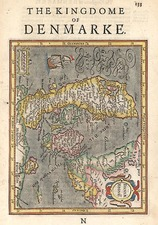 Europe, Baltic Countries and Scandinavia Map By Henricus Hondius - Gerhard Mercator