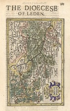 Netherlands Map By Henricus Hondius - Gerhard Mercator