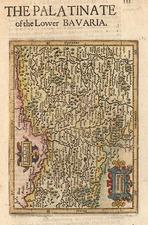 Europe and Germany Map By Henricus Hondius - Gerhard Mercator
