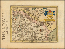Germany Map By Henricus Hondius - Gerhard Mercator