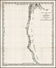 California Map By Capt. George Vancouver