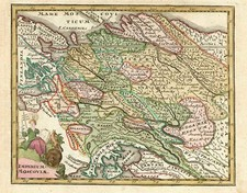 Europe, Russia, Baltic Countries, Asia, Central Asia & Caucasus and Russia in Asia Map By Adam Friedrich Zurner / Johann Christoph Weigel