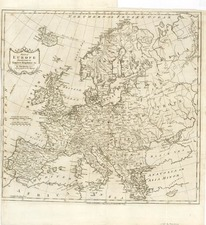 Europe and Europe Map By Thomas Kitchin