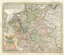 Europe, Europe, Germany and Baltic Countries Map By Adam Friedrich Zurner / Johann Christoph Weigel