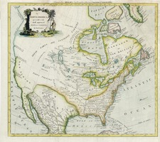 North America Map By Thomas Conder