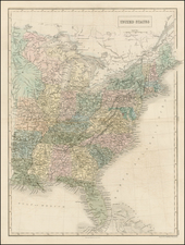 United States Map By Adam & Charles Black