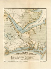 Southeast Map By Bowen & Co. / J.G. Foster
