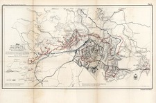 Southeast Map By Bowen & Co. / Captain Orlando M. Poe