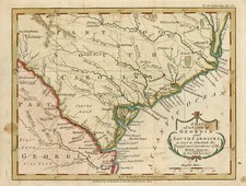 Southeast Map By Thomas Kitchin / London Magazine