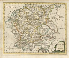 Europe and Germany Map By Thomas Kitchin