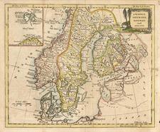 Europe and Scandinavia Map By Thomas Kitchin