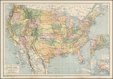 United States Map By Drioux et Leroy