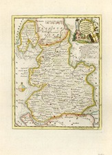 Europe and British Isles Map By Thomas Kitchin