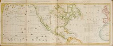 World, Atlantic Ocean, North America, Pacific and California Map By Thomas Jefferys