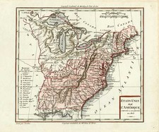 United States Map By Ambroise Tardieu