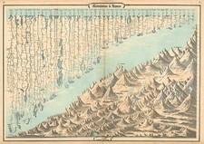 Curiosities Map By Benjamin P Ward  &  Alvin Jewett Johnson