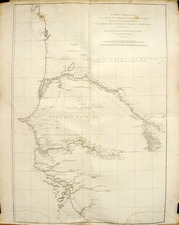 Africa and West Africa Map By Jean-Baptiste Bourguignon d'Anville