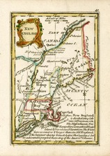 New England Map By John Gibson