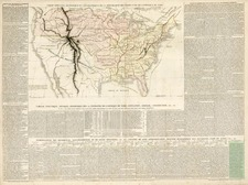 United States Map By Jules Renouard