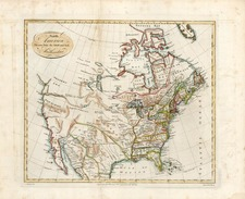 North America Map By John Harrison