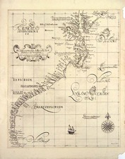 Southeast Map By Robert Dudley