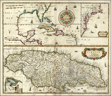 Mid-Atlantic, Southeast and Caribbean Map By Philip Lea