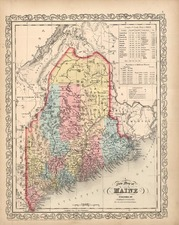 New England Map By Charles Desilver