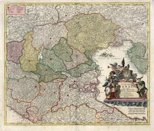 Europe, Balkans and Italy Map By Johann Baptist Homann