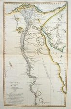Africa and North Africa Map By Jean-Baptiste Bourguignon d'Anville