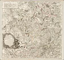 Europe and France Map By Gilles Robert de Vaugondy