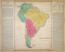 South America Map By Carey  &  Lea
