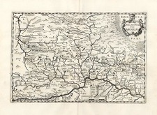 Europe and Germany Map By Matthaus Merian