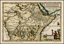 Africa, East Africa and West Africa Map By Pieter van der Aa